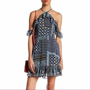 Romeo and Juliet Couture Patchwork Dress NWT SZ S